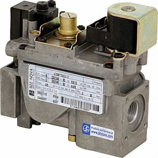 Gas-Kombiventil NOVA 822 220/240 V - 50 Hz Referenz-Nr.: 0.822.110