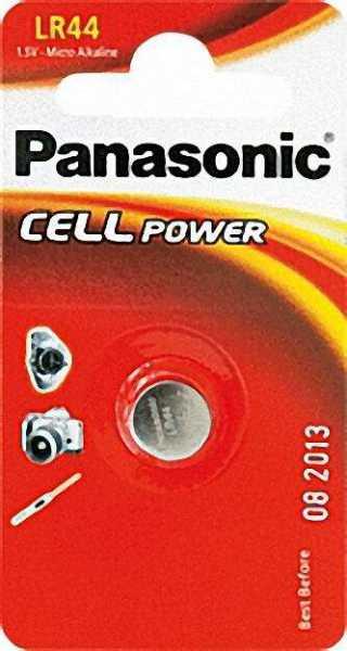 PANASONIC Knopfzelle Alkali Mangan LR-44EP
