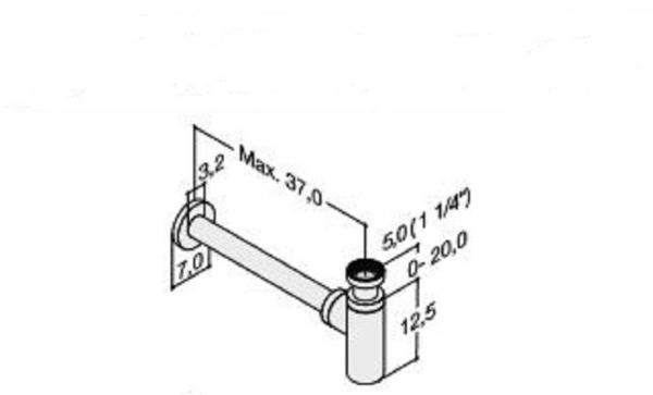 DANSANI 4881143 Design Sifon