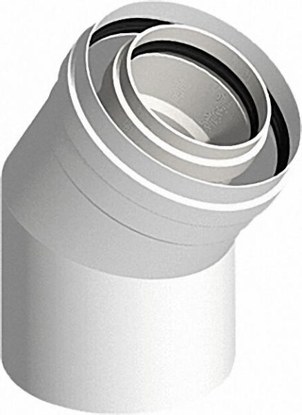 EVENES Kunststoff-Abgassystem Bogen 30° - DN 60/100