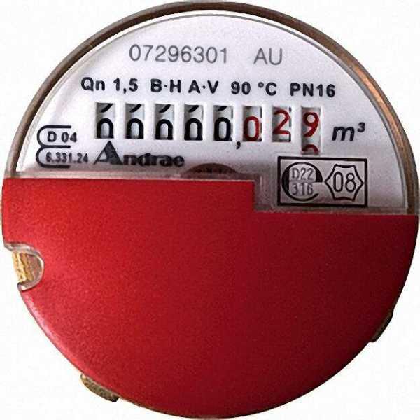 KW-Kapselzähler - Modular Qn 1,5 zum Austausch für Allmess - UP 6000