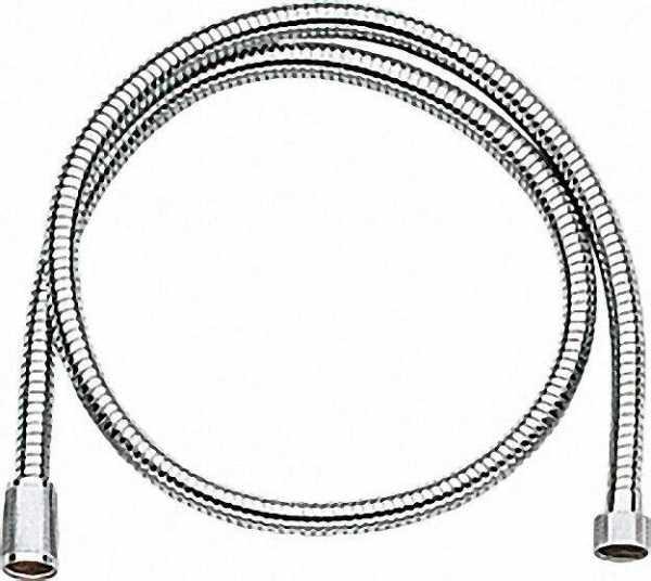 Relexa Metallbrauseschlauch 2,000mm, 1/2'' x 1/2'' Longlifür chrom