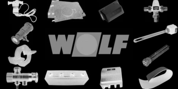 WOLF 8751750 Fronttür, Silber