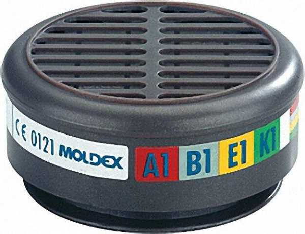 Mehrbereichsfilter A1B1E1K1 für Maskenkörper Serie 8000 VPE 1 Paar