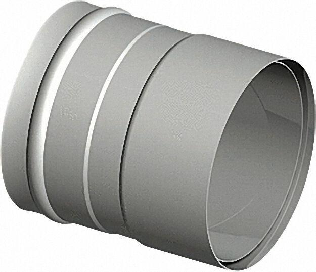 Einwandiges Abgassystem Wandfutter-Übergang 130mm Rauchrohr (0,