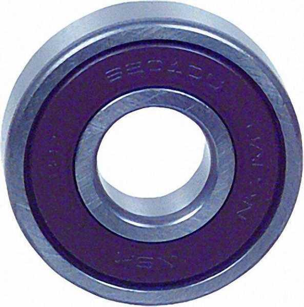 Rillen-Kugellager 6000 DDU mit Dichtscheibe Bohrung 10mm