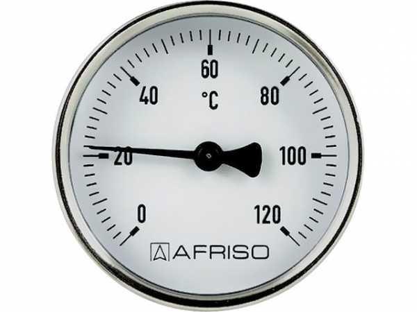 AFRISO Magnet-Anlegethermometer, 63 mm, 0 - 120°C
