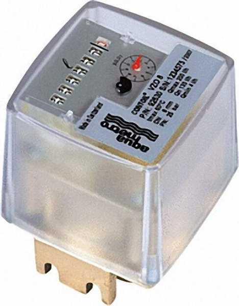 AQUAMETRO Aqua - Metro - Ölzähler Ringkolbenzähler VZO 4 QMIN 0, 5-40 l/h mit Innengewindeanschl. 1/