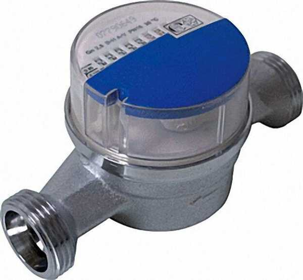 ANDRAE AP Wasserzähler kalt MODULARIS Qn 1,5 m3/h=max 3m3/h 130mm bei max 16 bar 3/4''=DN 15mm