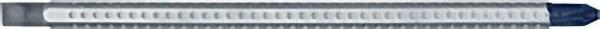 SYSTEM 6 Schlitz-Phillips Kombi- klinge Typ 284,4,0x PH1