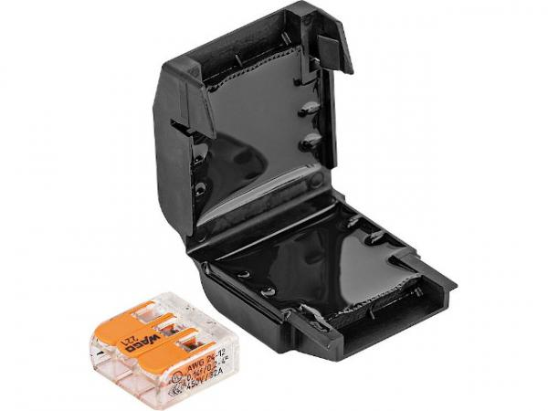 Gel Verbindungsmuffe, 1 Stück, Easy-Protect 113, 3x0,2-4mm², 1x Wago 221-413
