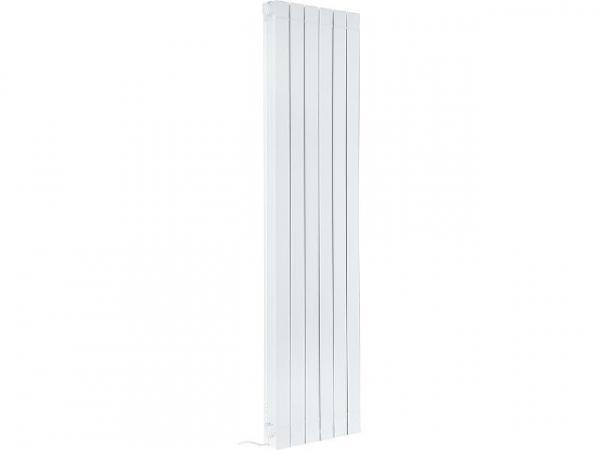 Aluminium-Heizkörper Elektrisch eGarda, 1500 Watt, RAL9010, weiß