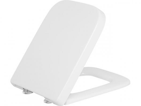 WC-Sitz Enero Edelstahlsteckscharnier, Softclose mit Take off Funktion, Duroplast