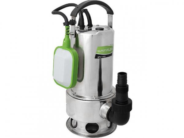 Schmutzwassertauchpumpe Flow SPV 1100 mit Schwimmerschalter