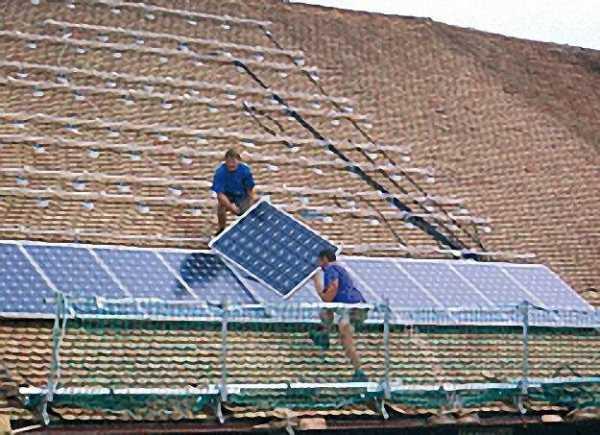 MAUDERER Bavaria Aluminium Dachschutzwand 10 lfm. komplett mit Holz-Transportkiste