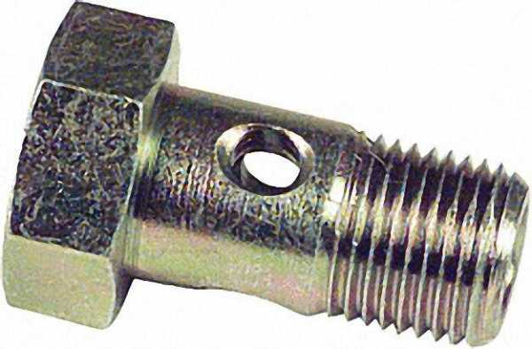 Hohlschraube R 1/8''a. für Schlauch 10mm Ring