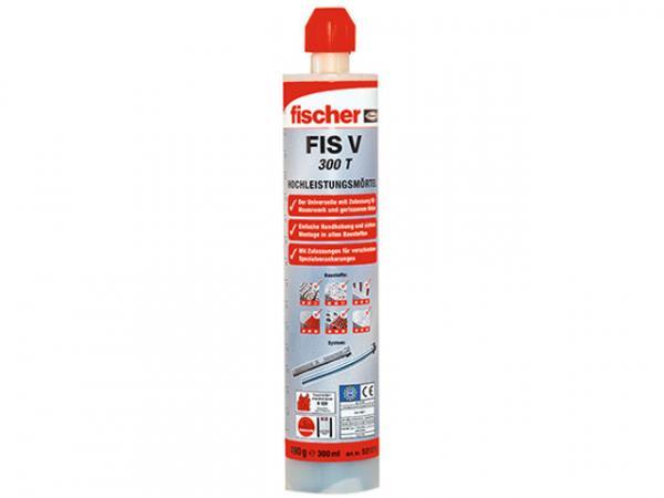 Fischer Hochleistung Montagemörtel FIS V 300 T Schwerlast Injektionsmörtel inkl. 2x Statikmischer VPE 1