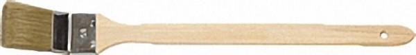 Pr. -Heizkörperpinsel 35mm Blechzwinge, helle Chinaborste, 3-fach gek. 90 % Tops