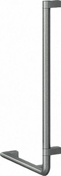 Winkelgriff Serie Cavere aus Alu., Anthrazit-Metallic 95, 750x400mm, 90°, rechte Ausführung
