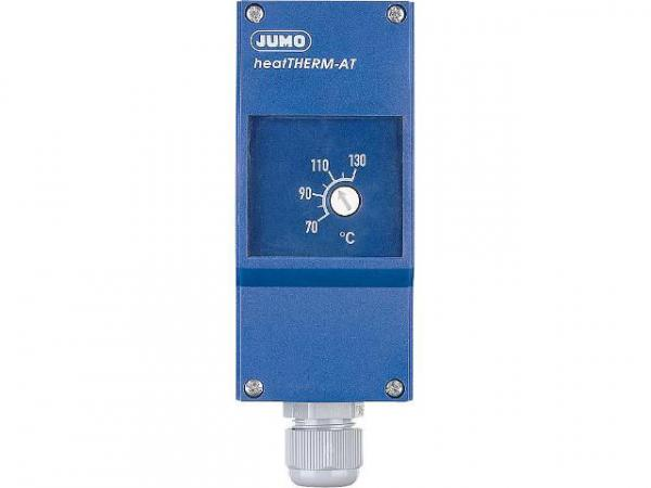 JUMO 60003189 Anlegethermostat Typ 603070/0020 70. . . 130°C mit ausziehb. Fernleitung