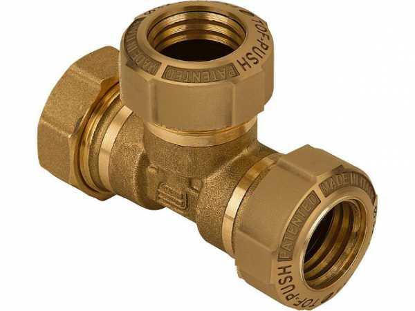 T-Stück Typ 864 25mm nicht für Gas geeignet