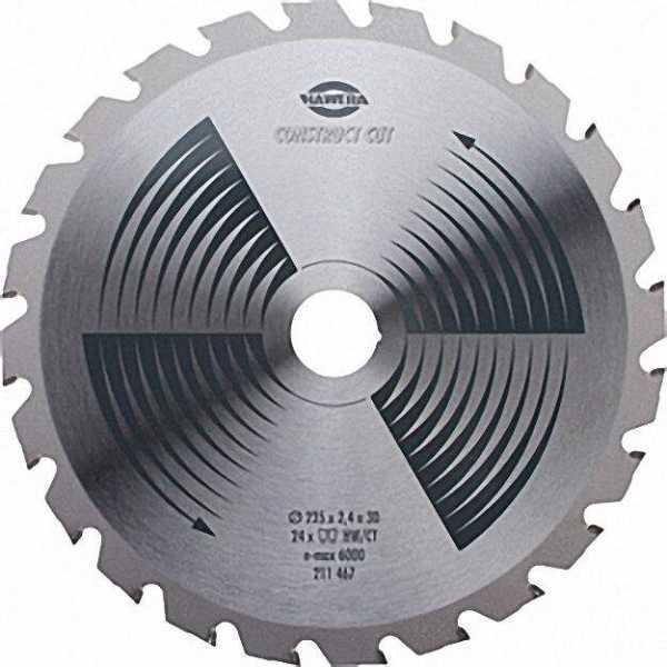 Sägeblatt 400x3, 2x30mm Bau-und Brennholz-Sägeblatt