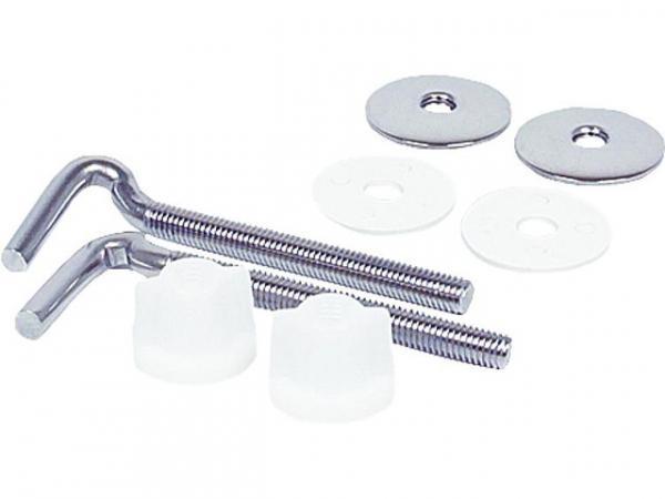 Befestigungssatz für WC-Sitz, aus Edelstahl - Typ: Twist