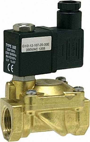 Gas-Magnetventil 1/2'' Pmax: 0,2bar, 230V-50Hz ID-No 021510