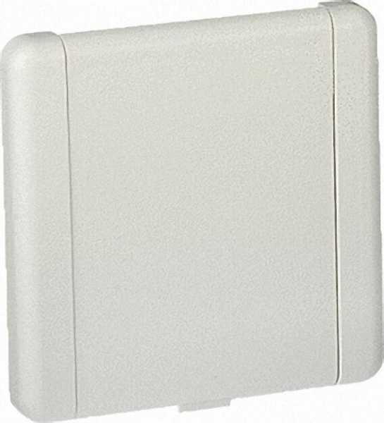 Saugdose Euro-Top, weißaluminium, RAL 9006