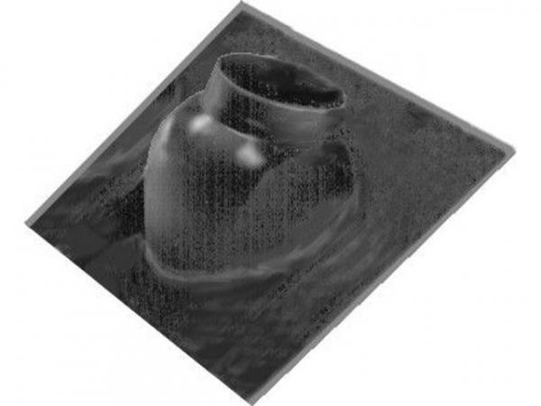 WOLF 1720206 Dachplatte für Schrägdach (schwarz)