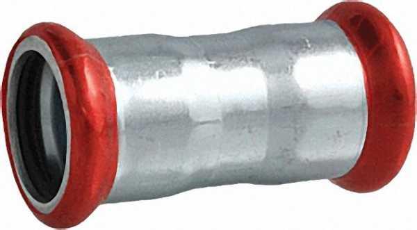 C-Stahl Pressfitting Muffe (i/i) 15mm