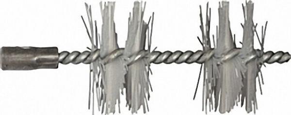 Heizkesselbürste mit IG M10 mit 2 Einlagen, passend für Buderus Stahlkessel, Polyamid
