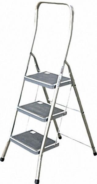 Alu-Sicherheits-Tritt Arbeitshöhe 2, 70 Standhöhe 0, 70 3 Stufen