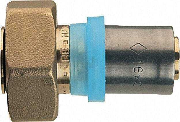 Pressfitting für MSVR Anschluss. verschraubung Eurokonus 16x2mm-3/4''