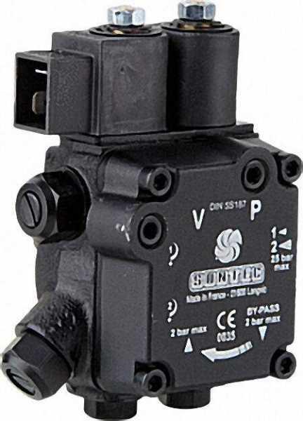 SUNTEC - Ölbrennerpumpe AT 2 45 D 9544 4P 0500 auch Ersatz für Eckerle