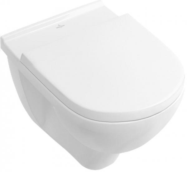 Villeroy & Boch 5688H1R1 compact Wand Tiefspül WC o.Novo Combi Pack, weiß/ceramicplus, WC compact in