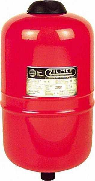 ZILMET Druckausgleichsgefäß für Öl 18 Liter 26cm dm Zilflex EL 18L