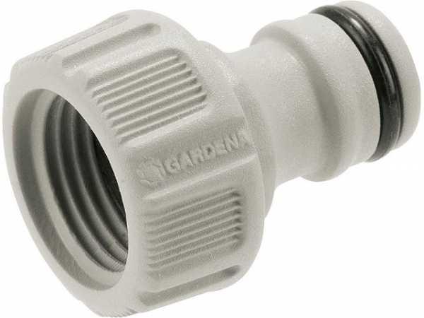 Hahnverbinder 16,7mm (G3/8)-Wasserhahn mit 21mm (G 1/2)-Gewinde