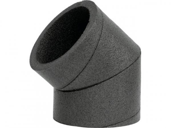 Wolf ISO-Rohrsystem Bogen DN180 45Gr