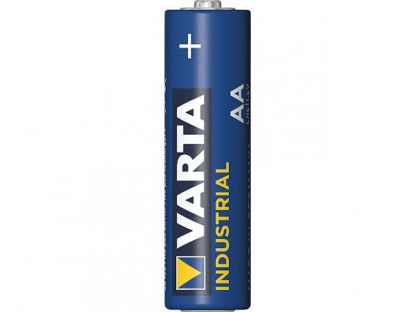 VARTA INDUSTRIAL Batterien MIGNON AA LR06 ALKALINE Achtung VPE 4 STK