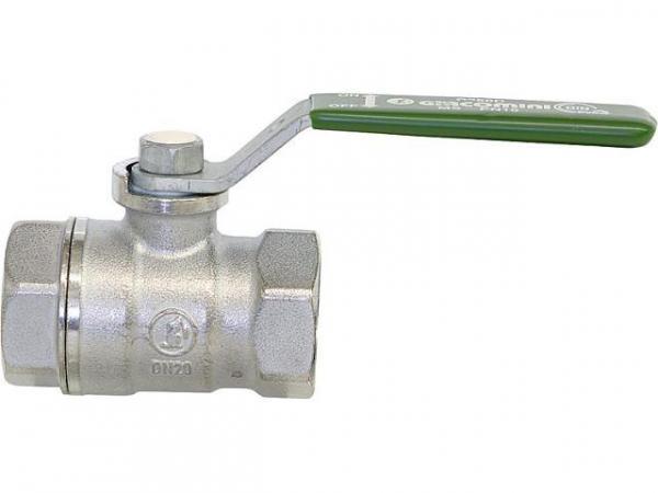 Giacomini R250WX023 Trinkwasser-Kugelhahn R250W IG/IG 1/2' Messing verchromt / Hebelgriff