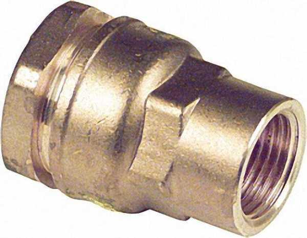 Anschlussverschraubung mit IG Typ 860 1 1/4''x40mm nicht für Gas geeignet