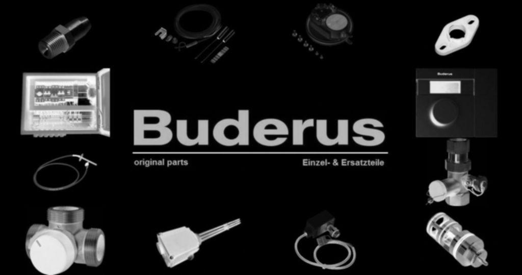 Buderus 63003234 Blende weiß verp. HSM