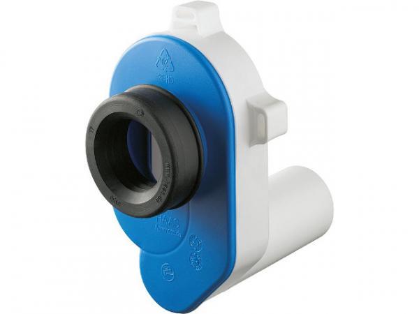 PE-Urinal-Absaugsiphon Abgang waagrecht für 50mm Rohr