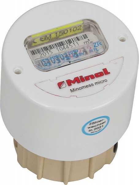 ZENNER Messkapsel-Wasserzähler MB3, M 76x1,5 mm Warmwasser 90°