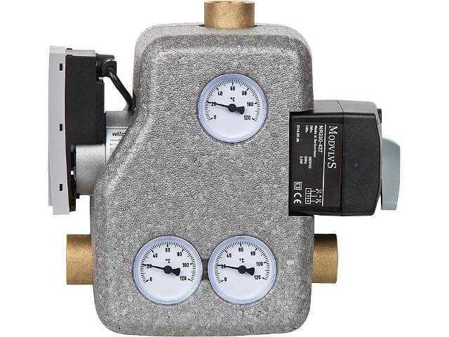 Festbrennstoffladeset Easyflow MCCS, 28mm, mit 3 Pkt. Stellmotor +Pump
