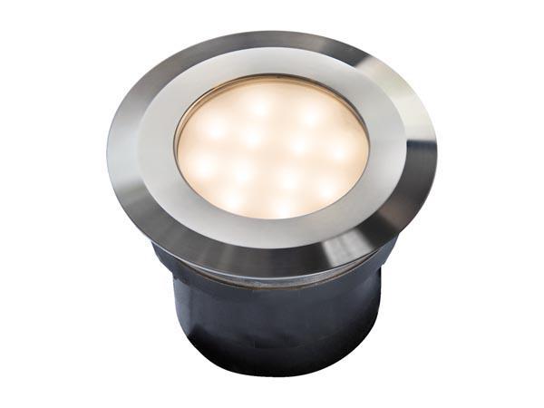 GARDEN LIGHTS GAVIA EINBAULEUCHTE 12 V 85 90 lm 2 W 3000/6000 K