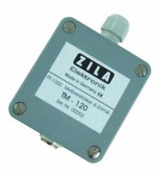 ZILA Messverstärker TM-120 für Pt100/Pt1000- Sensoren