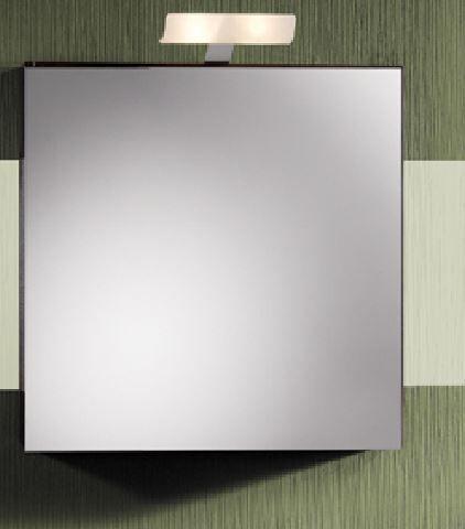 LANZET 7162812 Spiegelschrank 60/60/13, 6 rechts Grafit, L2+TrBox