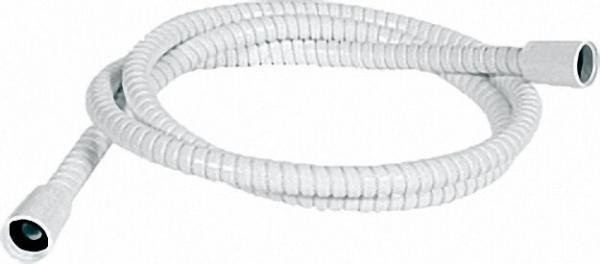 Brauseschlauch DN15-200cm Powerflex (knickfest), weiss, beidseitig 1/2''- Konus ABS
